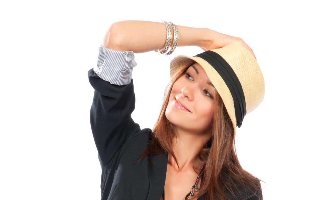 Sombrero Panamá Mujer