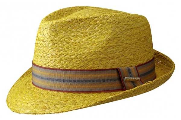 Sombrero Trilby Taft Raffia