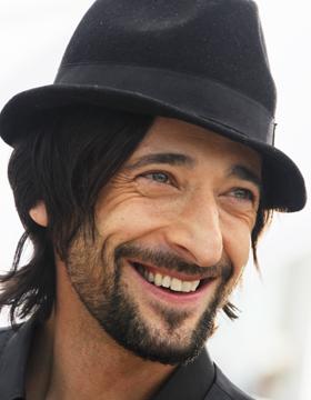 Adrien Brody sombrero trilby
