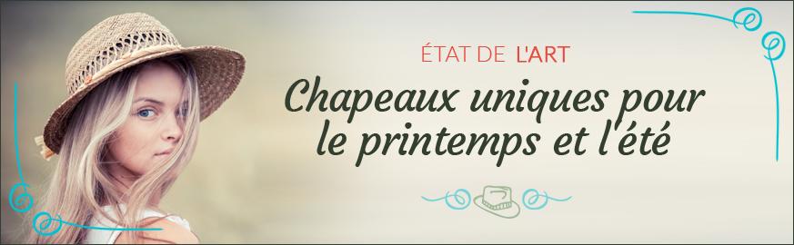 Chapeaux Printemps