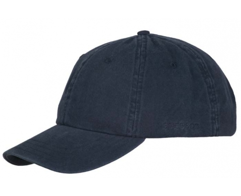 Baseball cap Stetson Blue cotton
