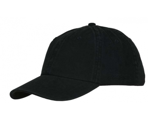 Baseball cap Stetson Black cotton