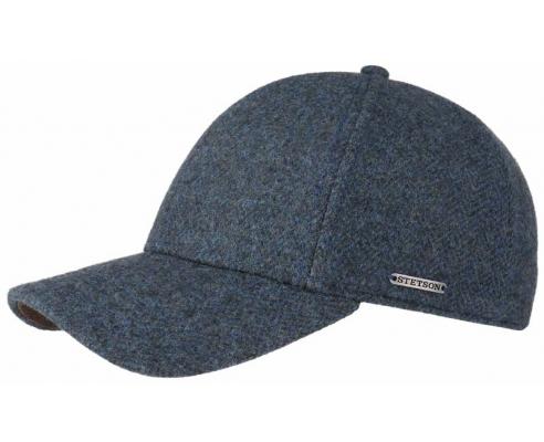 Baseball Cap Stetson Woolrich Blue