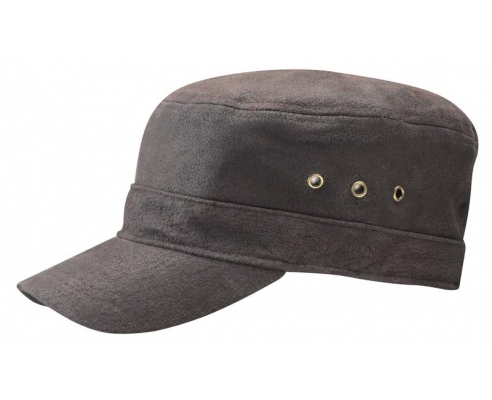 Stetson Minnesota Leather Cap