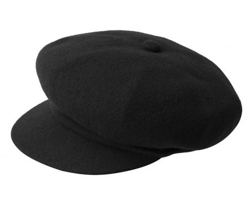 Newsboy Cap Kangol Wool Spitfire Black