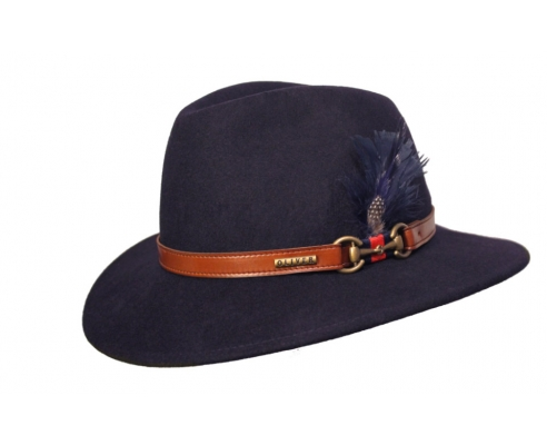 Fedora Indiana Hat Chester Blue Navy