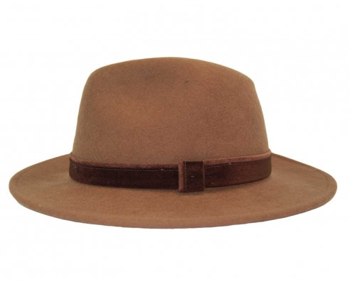 Fedora Indiana Hat Brown