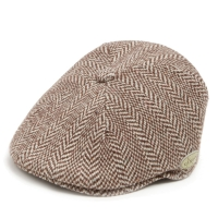 Gatsby Kangol Herringbone 504 Brown Cap