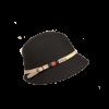 Sombrero Cloché Cinturón Negro