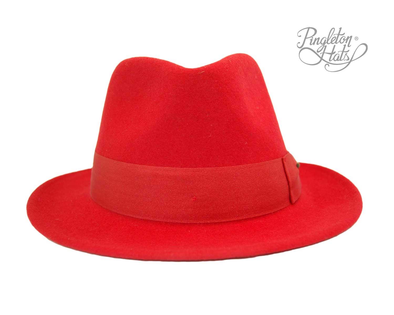 708e8bb032ed2 Sombrero Traveller Doble Lazo Rojo - Pingleton Hats