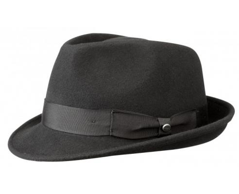 Chapeau Elkader Black