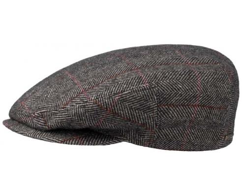 Casquette Duckbill Stetson Kent Wool mezcla gris
