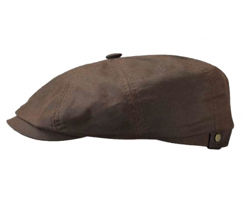 Casquette Gatsby Cotton Brown