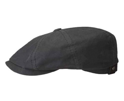 Casquette Gatsby Cotton Black