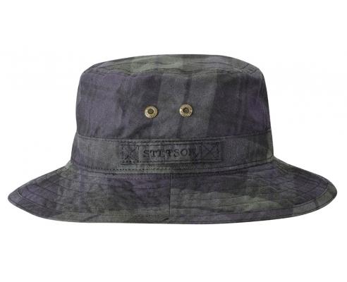 Sombrero Pescador Stetson Tartan Encerado