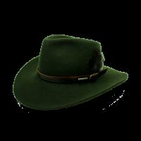 Sombrero Australiano Loden Pluma