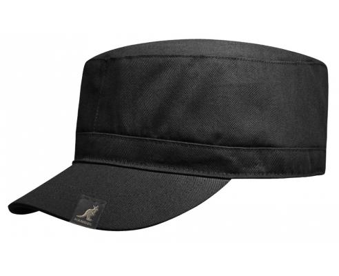Gorra Militar Kangol Algodón Negra