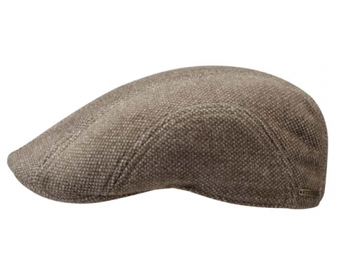Gorra Duckbill Stetson Madison marrón