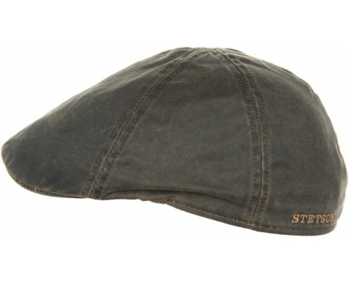 Gorra Duckbill Stetson Level Marrón