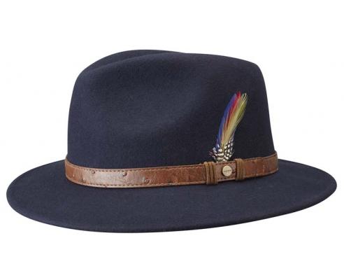 Sombrero Fedora Stetson Newark Pitman