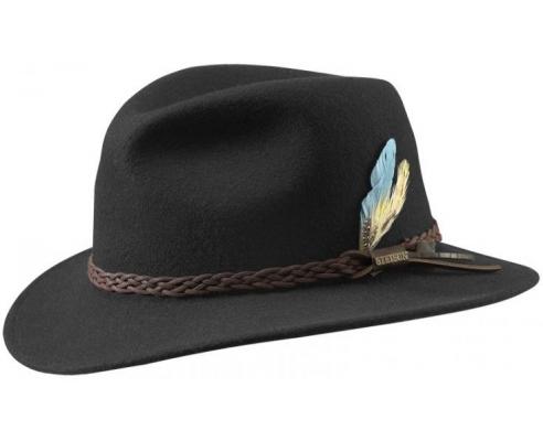 Sombrero Fedora Stetson Newark Negro