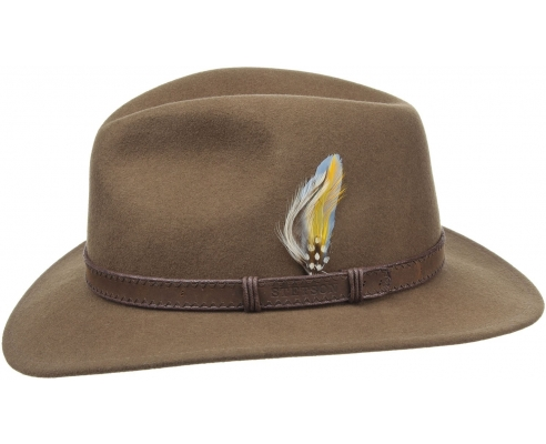 Sombrero Fedora Stetson Rutherford Camel