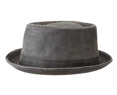 Sombrero Porkpie Stetson Odenton Negro