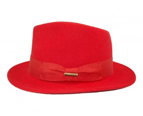 Sombrero Traveller Doble Lazo Rojo