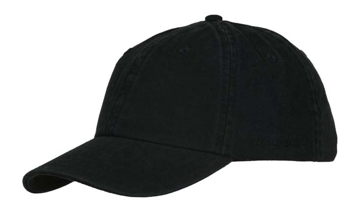 Gorra Stetson Béisbol Algodón negra Negro - Tienda online Pingleton Hats 6c26a69a066