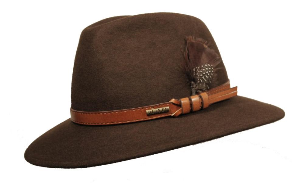 Sombrero Fedora Indiana Marrón Apache Marrón - Tienda online ... 818bc421bac