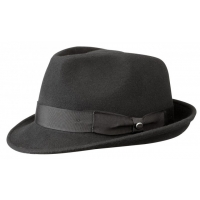 Sombrero Trilby Stetson Elkader Negro