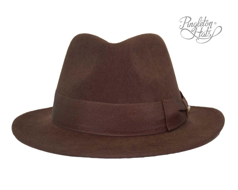 Sombrero Traveller Doble Lazo Marrón Marrón - Tienda online Pingleton Hats a7607707dc9