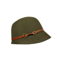 Sombrero Cloché Hebilla Loden