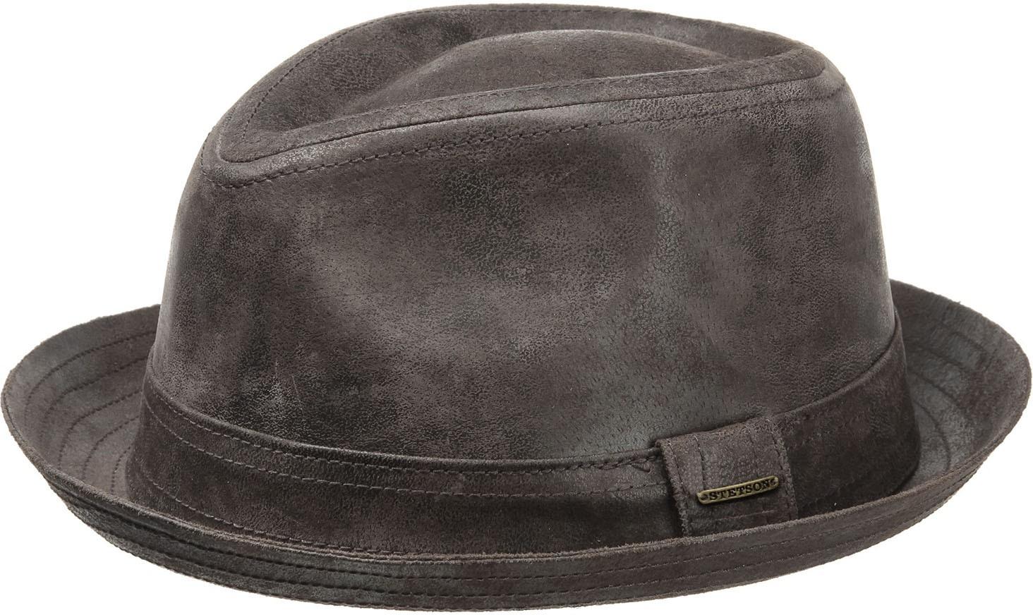 Porkpie Hat Stetson Radcliff - Pingleton Hats e3887b1b883