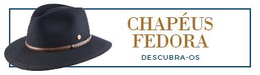 chapeus fedora